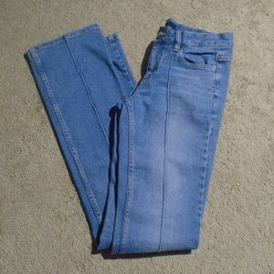"""MARC JACOBS Seamed Bootcut Jeans 2/32.5"""""""